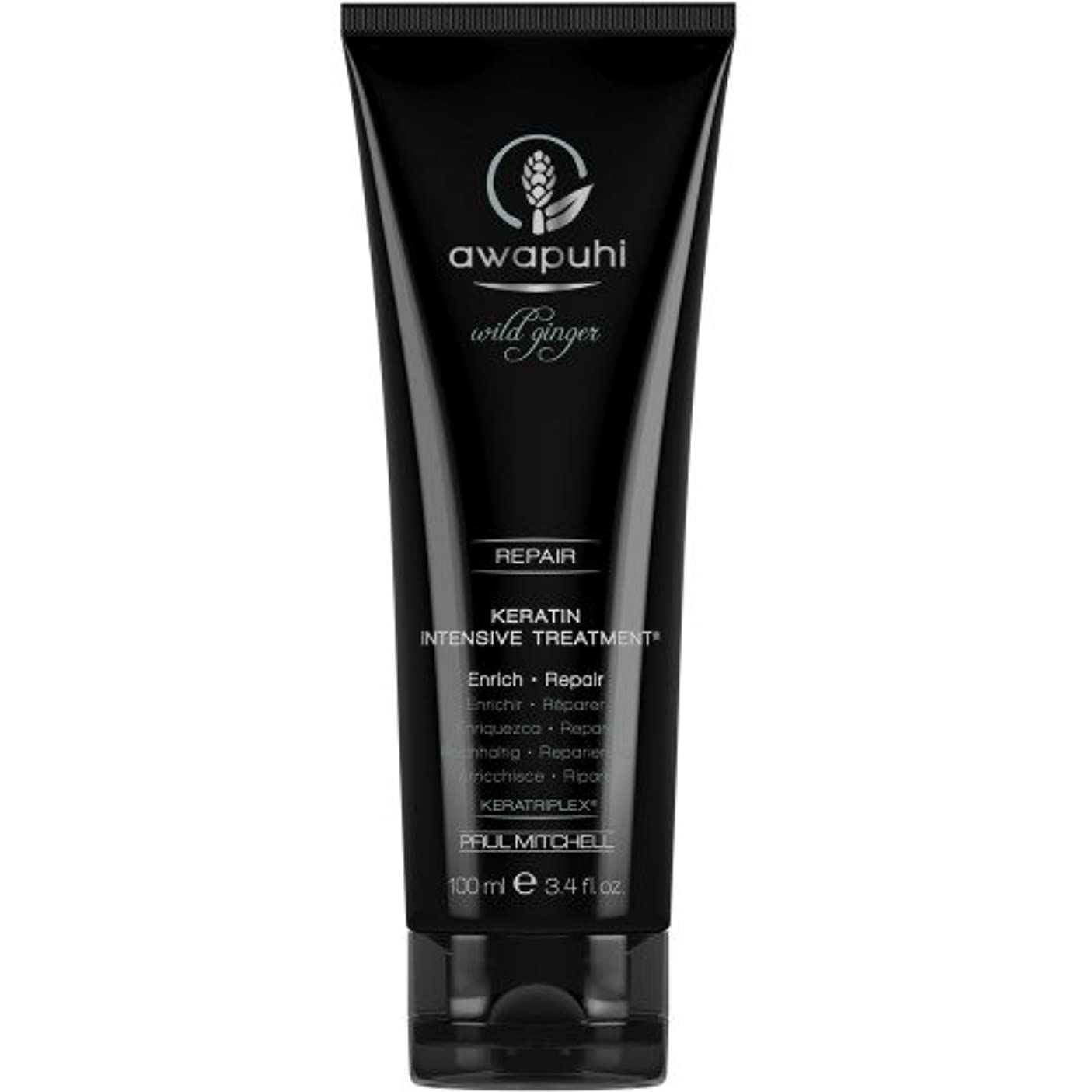 手当芝生ナットポール ミッチェル Awapuhi Wild Ginger Keratin Intensive Treatment (For Dry and Damaged Hair) 100ml/3.4oz並行輸入品