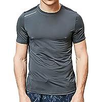 [ジェームズ・スクエア] メンズ スポーツ Tシャツ 反射素材 採用 トレーニング シャツ 半袖