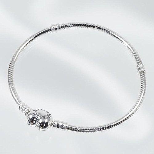 [해외](판도라) PANDORA MOMENTS SILVER BRACELET HEART CLASP 여성 팔찌 팔찌 [병행 수입품]/(Pandora) PANDORA MOMENTS SILVER BRACELET HEART CLASP Women`s bracelet bangle [Parallel import goods]