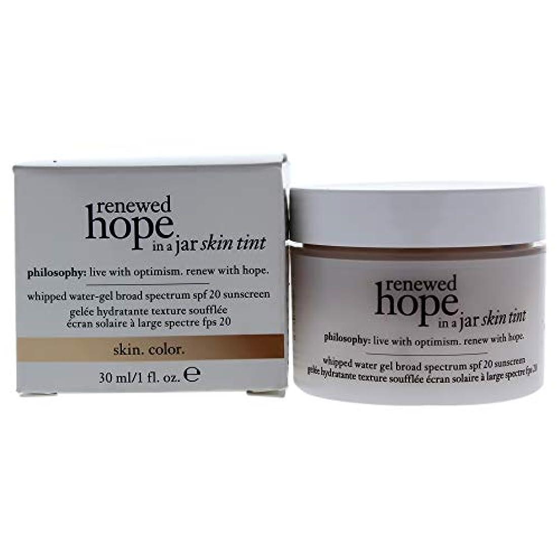 辞任急いで明快フィロソフィー Renewed Hope In A Jar Skin Tint Whipped Water Gel SPF 20 - # 6.0 Almond 30ml/1oz並行輸入品