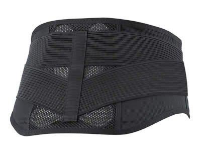 ノーブル バックレスキュー腰痛ベルト メッシュ ブラック LLサイズ