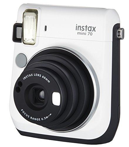富士フイルム チェキ instax mini 70 写真のない図鑑セット White ホワイト