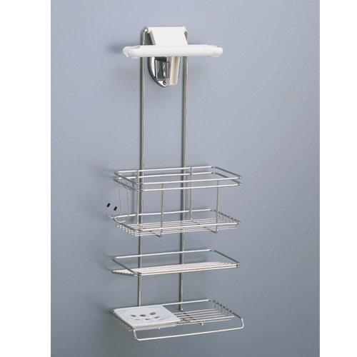 ロイヤル通販「ステンレス製 シャワー ラック 3段」
