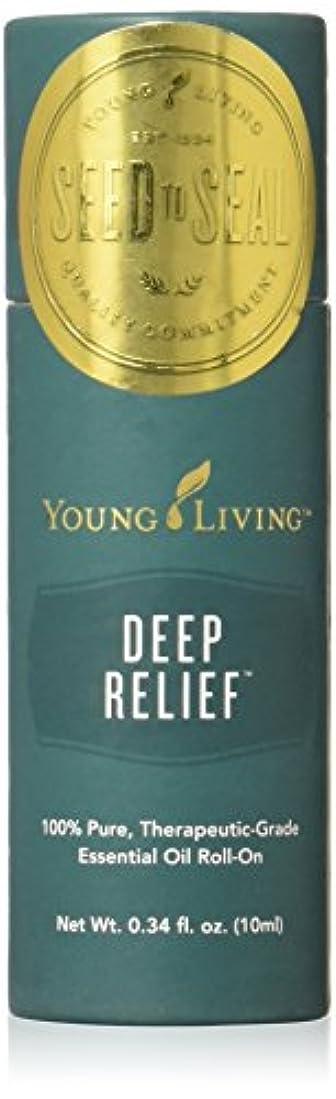 出発する不安定な平和なヤングリビング Young Living ロールオン ペパーミントブレンド Deep Relief エッセンシャルオイル 10ml