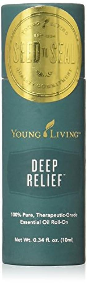 遮る聞く賭けヤングリビング Young Living ロールオン ペパーミントブレンド Deep Relief エッセンシャルオイル 10ml