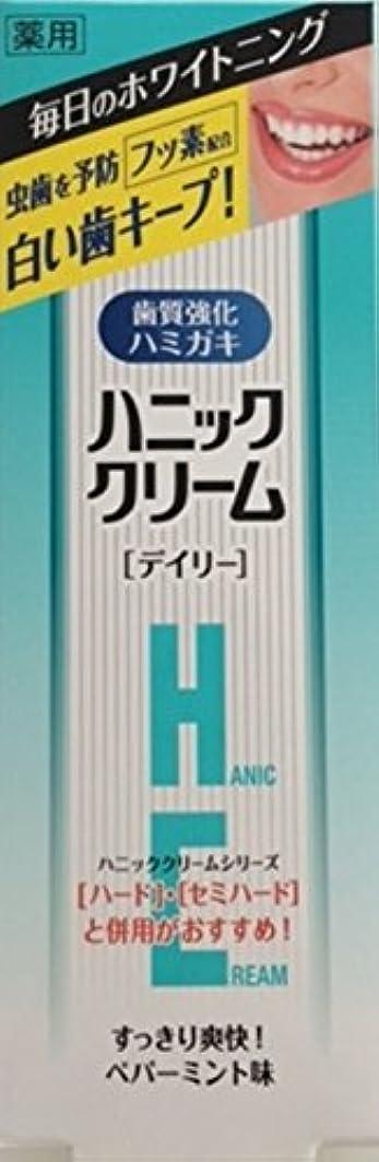 メッセンジャー誤って貢献するハニッククリーム 薬用デイリーユース90g