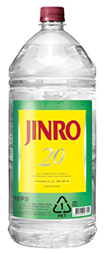 JINRO(ジンロ)20度 PET 4l