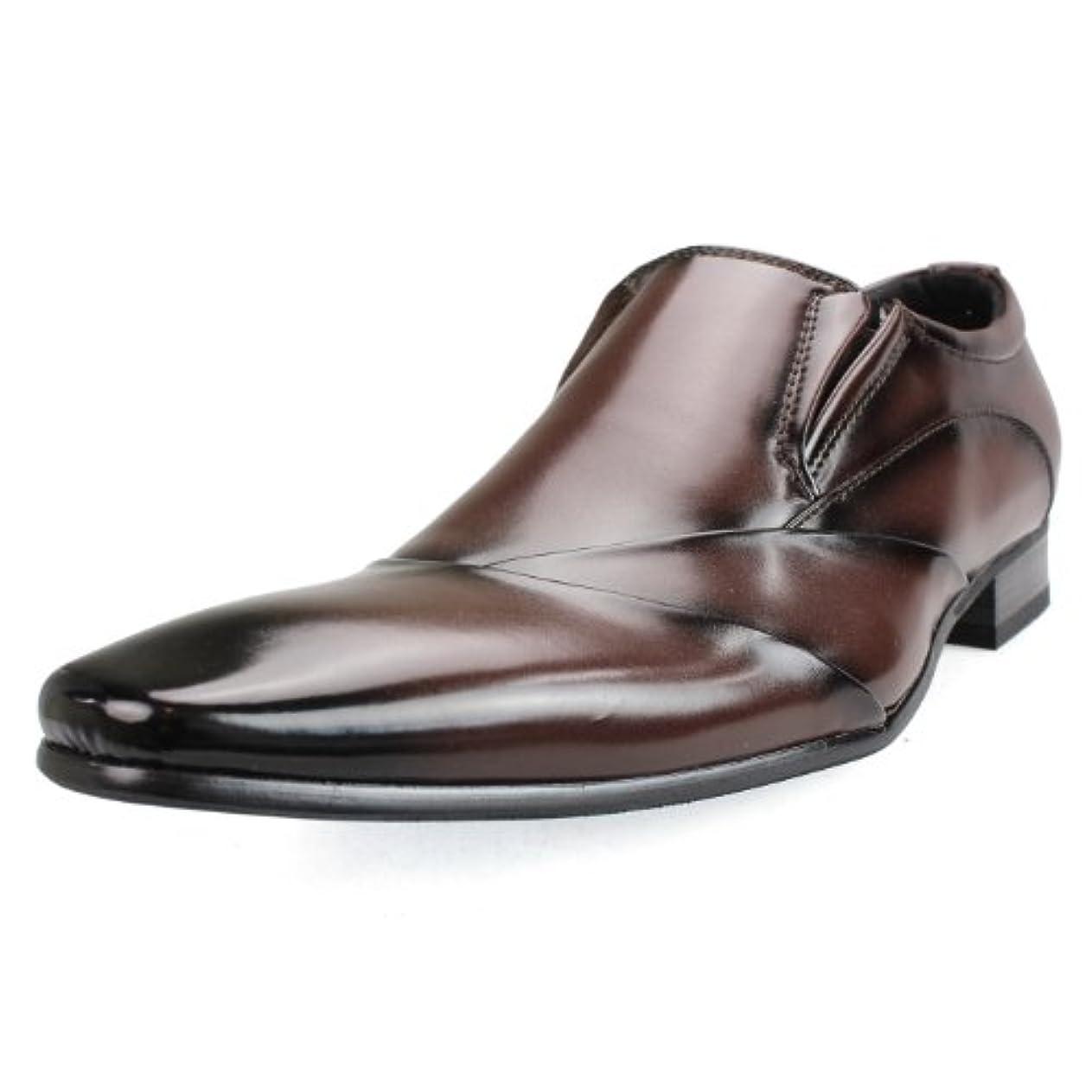 非常に怒っています構想する作家[エムエムワン] MM/ONE ビジネスシューズ ドレスシューズ PUスムース Shoes