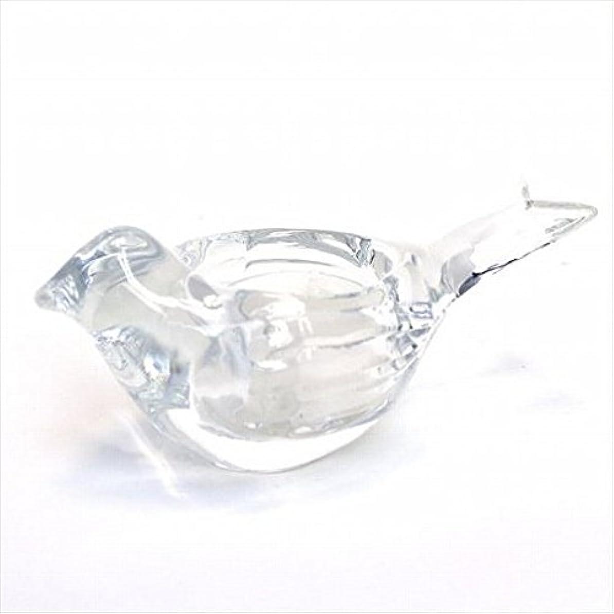 ひも順応性敬の念kameyama candle(カメヤマキャンドル) オードリーティーライトホルダー 「 クリア 」 キャンドル 120x58x58mm (J1340000C)