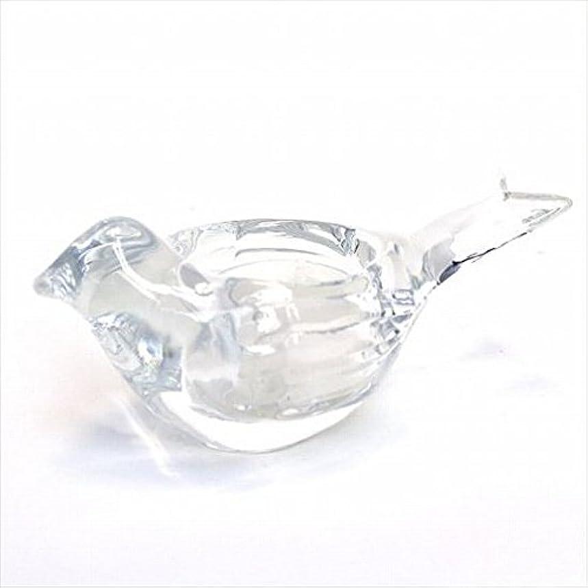 やさしい作物エールkameyama candle(カメヤマキャンドル) オードリーティーライトホルダー 「 クリア 」 キャンドル 120x58x58mm (J1340000C)