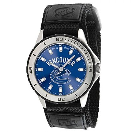 [ゲーム タイム]VANCOUVER CANUCKS NHL MENS VETERAN SERIES WATCH 腕時計 [並行輸入品]