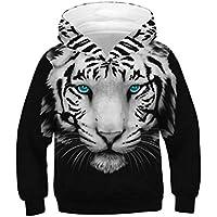 Tsyllyp Boys and Girls Popular Hoodies 3D Printed Pullover Hooded Sweatshirts