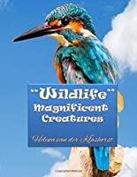 Wildlife Magnificent Creatures: Grayscale coloring
