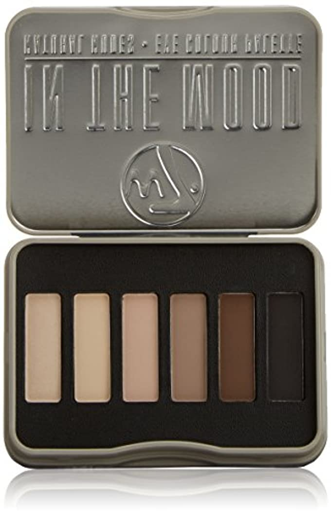 考慮差別的応用W7 In The Mood Natural Nudes Eye Colour Palette (並行輸入品)