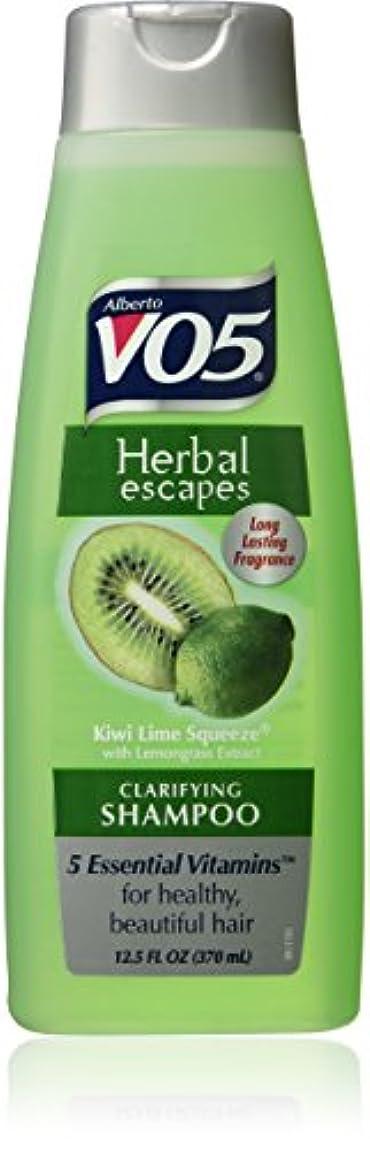 拡大するベスビオ山ウェーハAlberto VO5 Herbal Escapes Kiwi Lime Squeeze Clarifying Shampoo for Unisex, 12.5 Ounce by VO5 [並行輸入品]