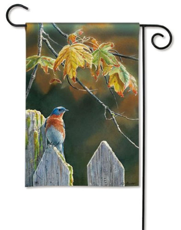 Magnet Works MAIL35947 Garden Gate BlueBird Grdn Flag