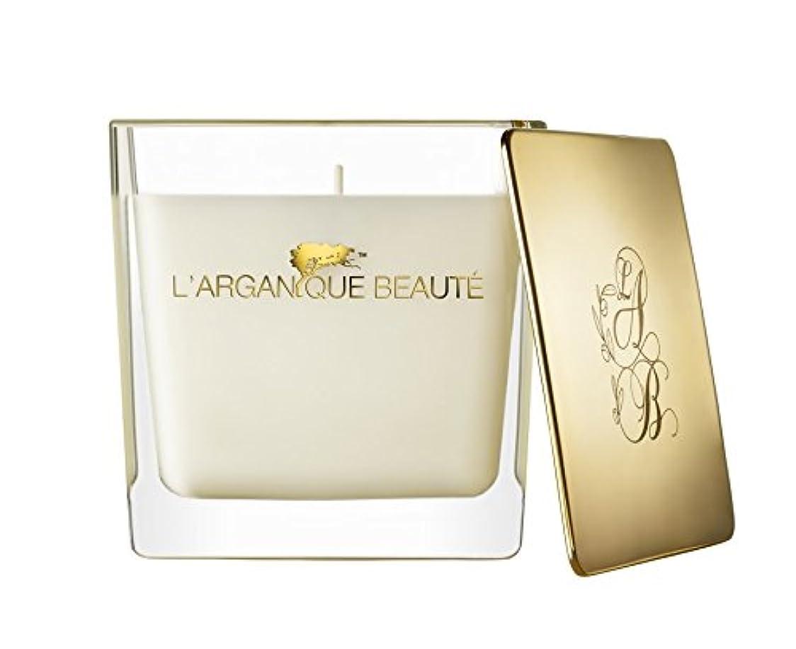 爪羊脚本家L 'arganique Beaute Luxury Scented Candle、Perfumed香りSpa Candle – Made w/100 %大豆ワックス、鉛フリーWick、純粋なモロッコアルガンオイルEssence...