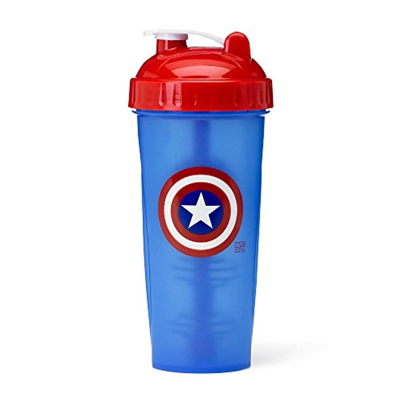 作動する豊富な元気PerfectShaker Hero Series Captain America Shaker Cup (800ml) by Perfect Impressions