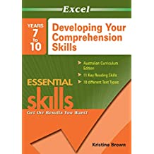 Excel Essential Skills Workbook: Developing Your Comprehension Skills Years 7-10