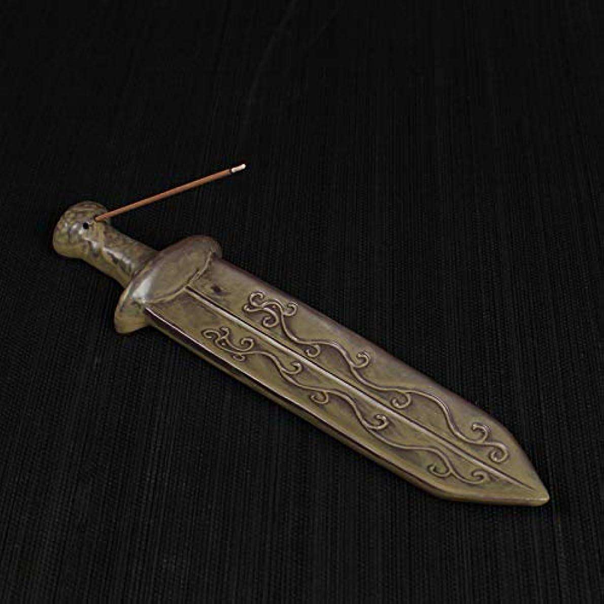 砂漠梨円形のPHILOGOD 香炉 陶器宝剣スタイリング ヴィンテージ線香 香立て 香皿 (Green1)