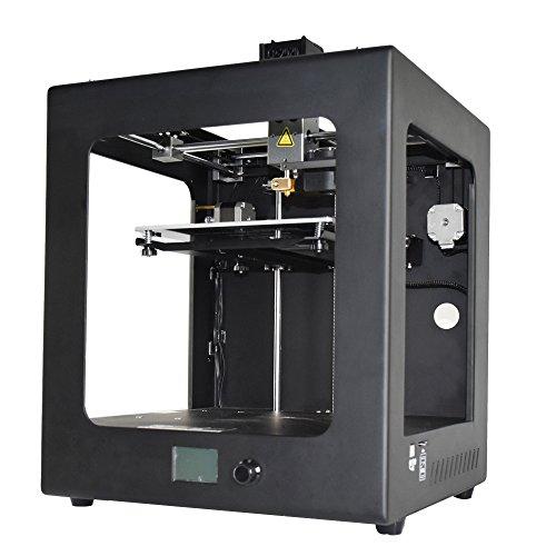 「新機種」HICTOP 3Dプリンター 金属フレーム構造 超静音 印刷サイズ200*200*200 多種のフィラメントに対応できる plaフィラメント1KG付き 3DP-24