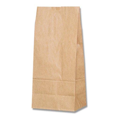 ヘイコー 紙袋 角底袋 No.25 クラフト 21x13x45cm 100枚