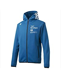 DESCENTE (デサント) HEAT NAVI ACTIVE SUITS フーデッドジャケット ブルー DMMMJF25 1810 メンズ