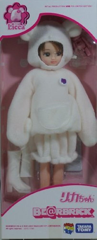 Takara Tomy Medicom Toyリカちゃん人形2007 Bearbrick ( Be @ rbrick )コラボレーションEdition 500個限定