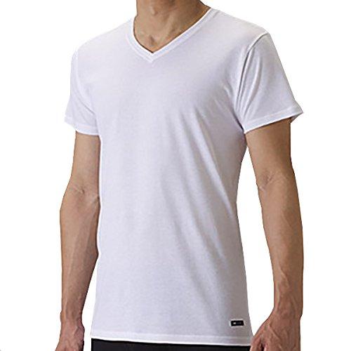 セーレン デオエスト 消臭アンダーシャツ V首 ホワイト L