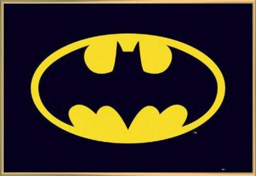 ポスター:バットマンポスター–クラシックロゴ( 36x 24インチ) 42416R045