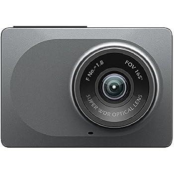 YI ドライブレコーダー DashCam 車載カメラ WiFi内蔵 アプリ対応 Gセンサー搭載165°広角 1080PフルHD 2.7インチ スタンド付き