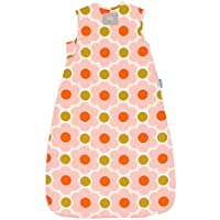 The Gro Company Grobag 0.5 Tog Daisy Spot Flower Orla Kiely Sleeping Bag for 18-36 Months Baby