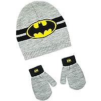 Baby 2 Piece Batman Beanie Hat & Gloves Set