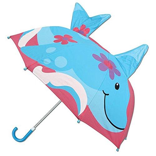 ステファンジョセフ 傘 Stephen Joseph 女の子用雨の日が楽しくなっちゃうイルカさんポップアップアンブレラ 傘 カサ [並行輸入品]
