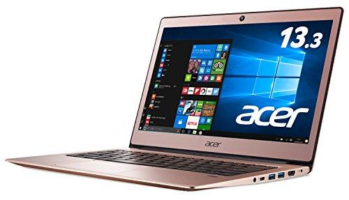 Acer ノートパソコン Swift1 Celeron N3350/13.3インチ/4GB/128GB eMMC/ドライブ/Windows10
