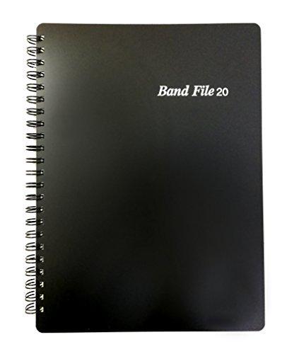バンドファイル ブラック