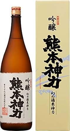 千代の園 吟醸 熊本神力 [ 日本酒 熊本県 1800ml ]