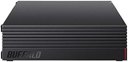 【Amazon.co.jp限定】BUFFALO 外付けハードディスク 4TB テレビ録畫/PC/PS4/4K対応 靜音&コンパクト 日本製 故障予測 みまもり合図 HD-AD4U3
