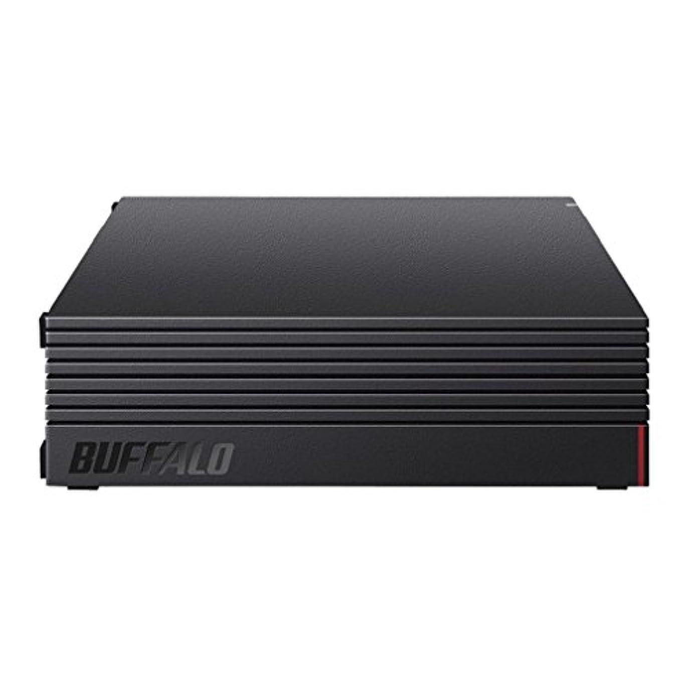 濃度ハンバーガー封筒【Amazon.co.jp限定】BUFFALO 外付けハードディスク 3TB テレビ録画/PC/PS4/4K対応 静音&コンパクト 日本製 故障予測 みまもり合図 HD-AD3U3