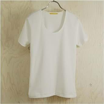久米繊維謹製レディスTシャツ 白 LL