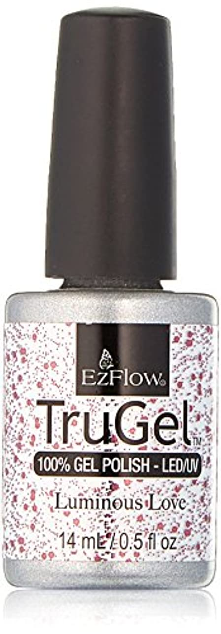 極端な満足テラスEzFlow TruGel Gel Polish - Luminous Love - 0.5oz / 14ml