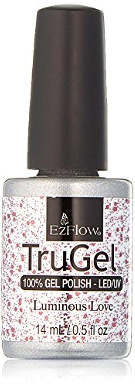 信頼ワイド挑発するEzFlow TruGel Gel Polish - Luminous Love - 0.5oz / 14ml