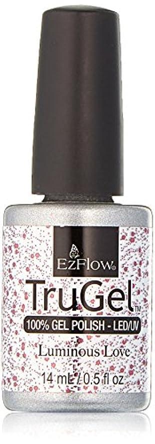 はっきりしない花火ロッドEzFlow TruGel Gel Polish - Luminous Love - 0.5oz / 14ml