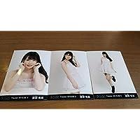AKB48 月別 生写真 2018 August 8月 ? 3種 コンプ チーム8 服部有菜 検 握手券 六本木 エイトの日 SKE NMB HKT NGT STU