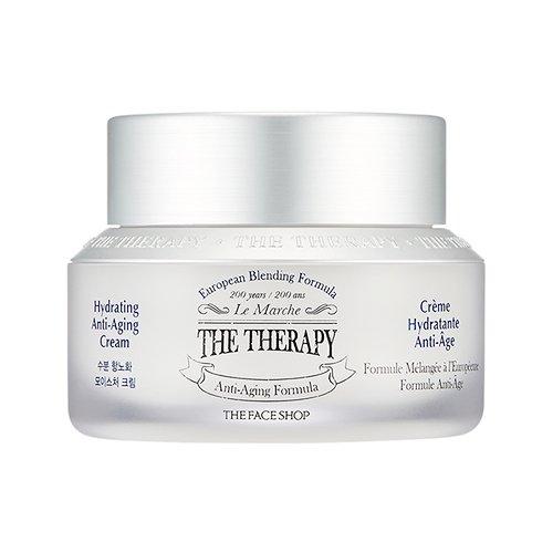 THE FACE SHOP The Therapy Hydrating Anti-Aging Cream 50ml/ザフェイスショップ ザ セラピー ハイドレーティング アンチエイジング クリーム 50ml