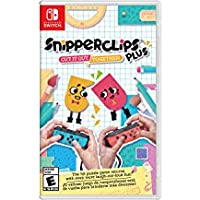 Snipperclips Plus Cut it out, Together! Nintendo Switch スナッパークリップ プラス 一緒にそれをカット! 任天堂スイッチ 北米英語版 [並行輸入品]