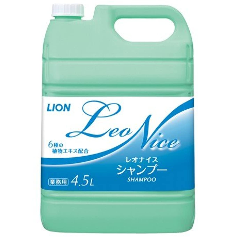 消化溶融戸棚ライオン レオナイス シャンプー 4.5L×3本入