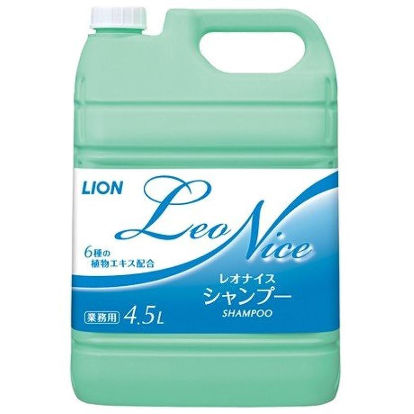 苗腹部くしゃみライオン レオナイス シャンプー 4.5L×3本入