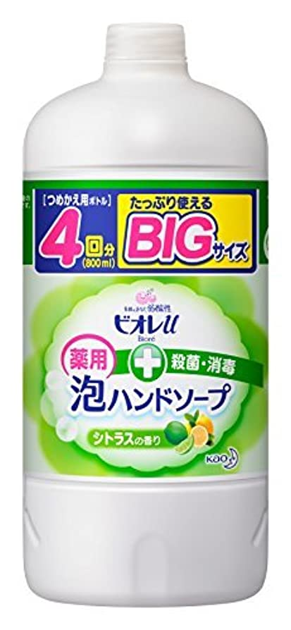 理想的にはゼロ確立ビオレu 泡ハンドソープ シトラス つめかえ用 800ml [医薬部外品] Japan