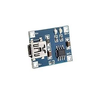 EasyWordMall DIY 5V ミニ USB 1A リチウム 電池 充電 リポ Lipo 充電器 モジュール [並行輸入品]